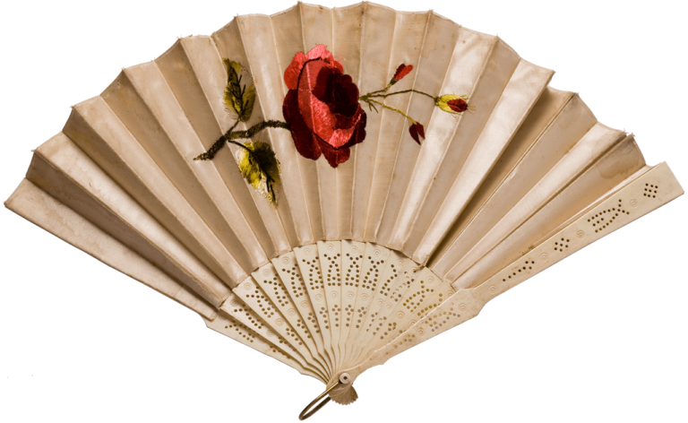 Fan, second half of the 19th century
