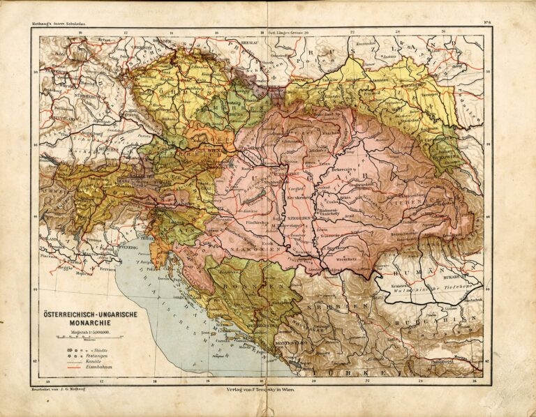 Austria-Hungary, beginning of the 20th century
