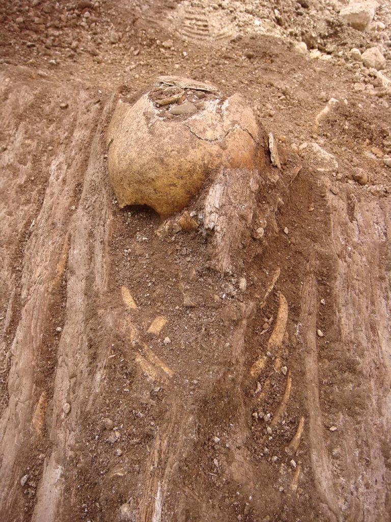 Fotografija s arheološkog istraživanja, Tribalj - Sv. Marija, (Arhiva PPMHP Rijeka)