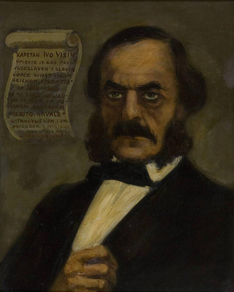 Kapetan Ivo Visin, Boka kotorska, prva pol. 20. stoljeća
