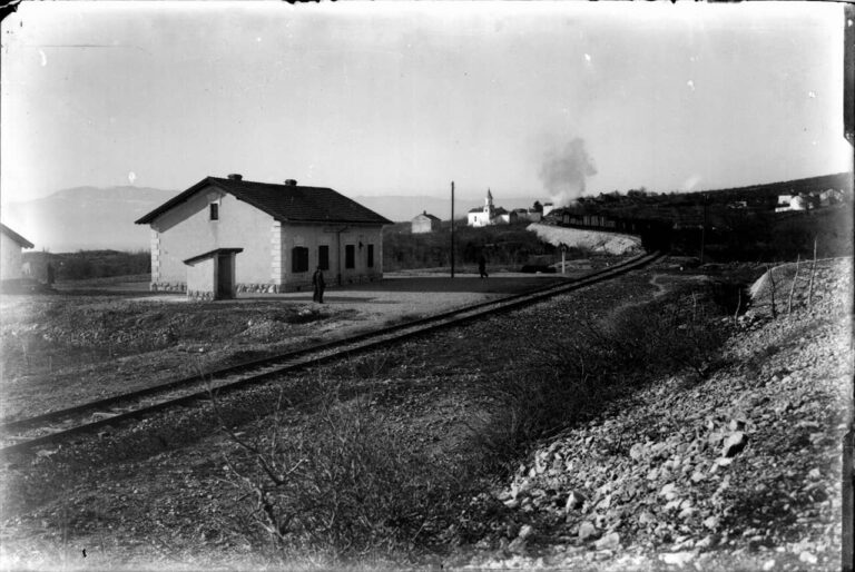 Željeznička postaja Šoići - Kostrena, sredina 20. stoljeća
