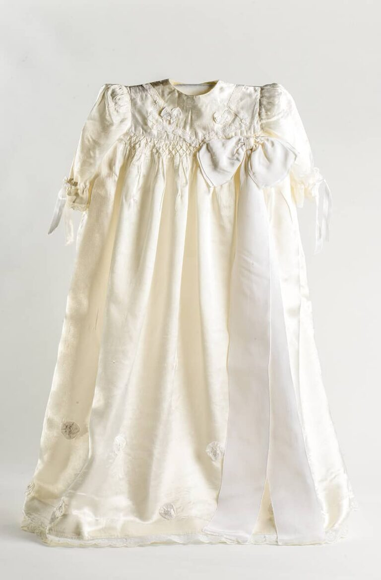 Christening dress, Vice Palčić, Pag, around 1949
