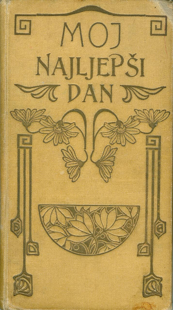 Knjižica Moj najljepši dan, E. Vitaliani, Zadar, 1910.