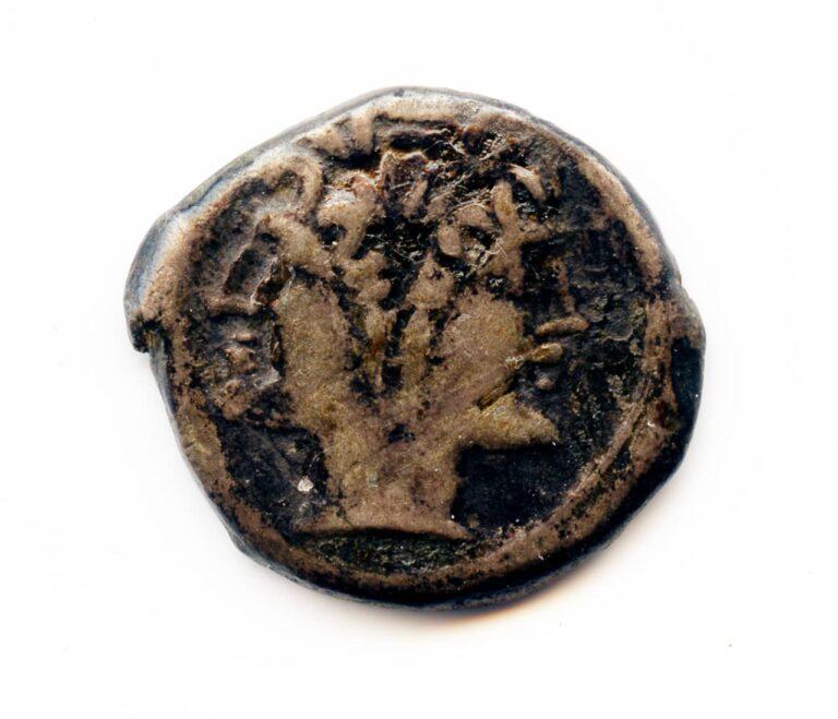 Srebrna drahma Rimske Republike s prikazom boga Jana, Kampanija, (Italija), između 216. - 211. godine pr. Kr.