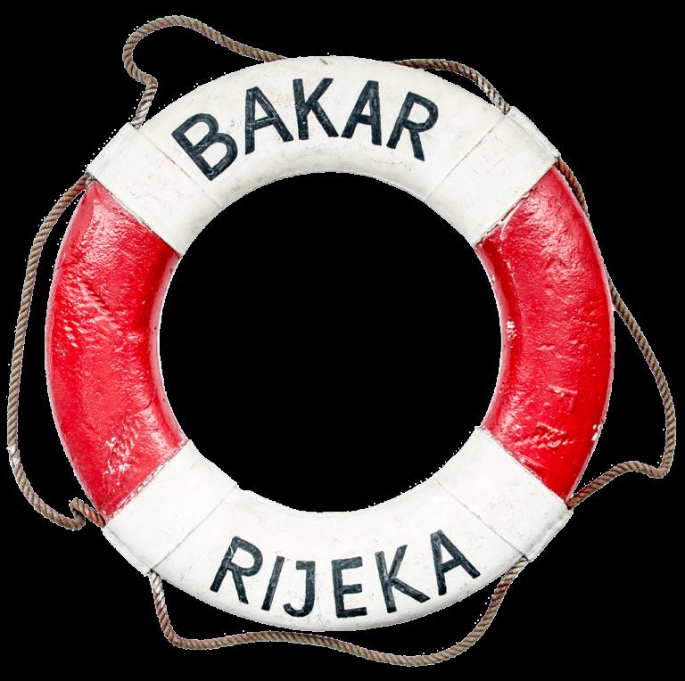 Life belt from Bakar steamboat, Sušak, 1931