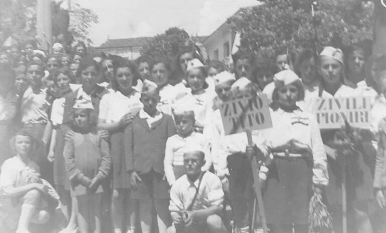 Pioneers from Kastav, Kastav, May 1945