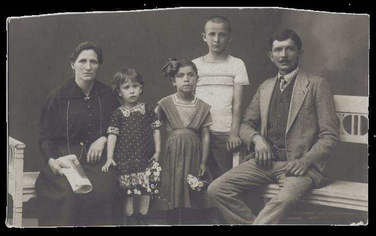 Family photograph, Bogumil Zoubek, Sušak, around 1920