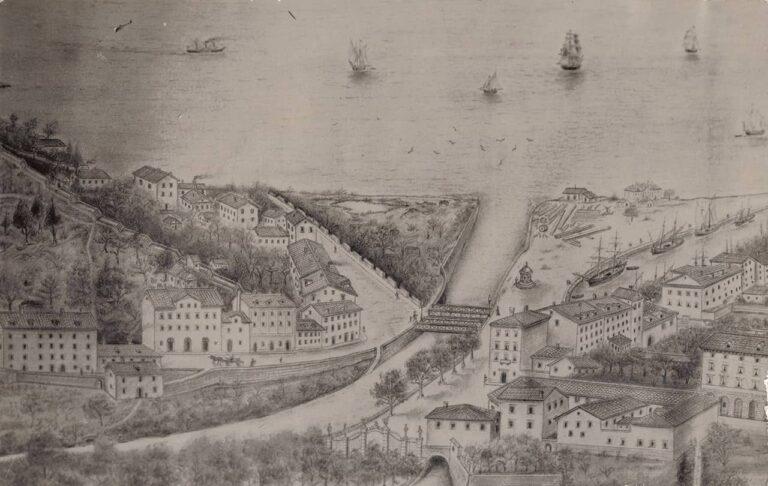 "Rijeka - Sušak, Carta postale ""Paget"", oko 1925."