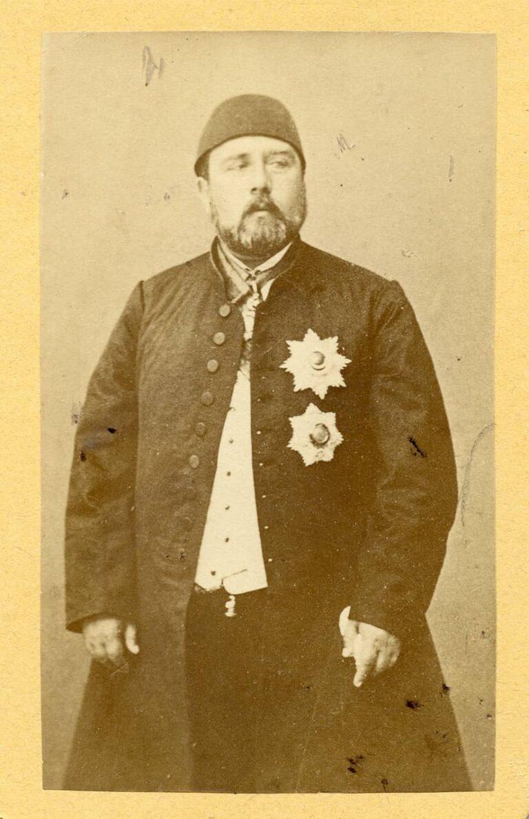 Ismail Paša Egipatski, F. Ramann, Trst, oko 1875.