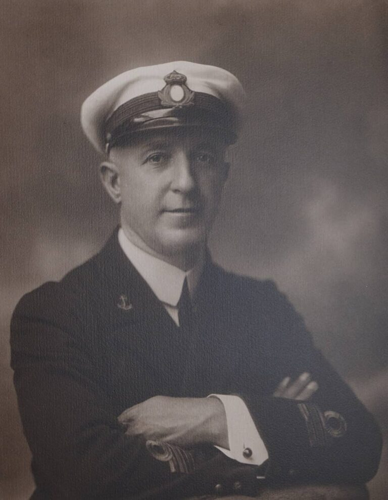 Portrait of an unknown captain, 20th century