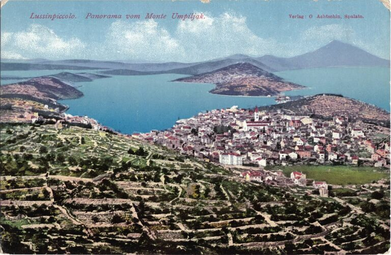 Mali Lošinj, O. Achtschin, Split, around 1910