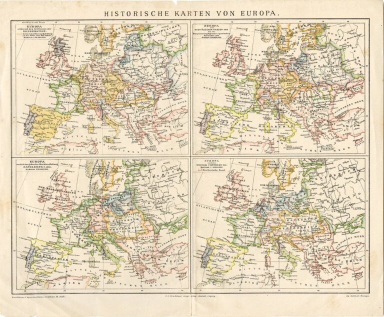 Historical Maps of Europe: