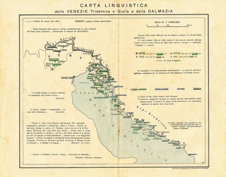Linguistic map