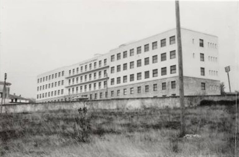 Banovina hospital on Sušak, 1935