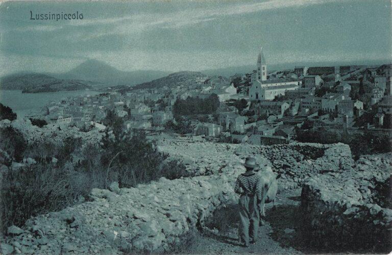 Mali Lošinj, G. P. Budua, Mali Lošinj, oko 1910.